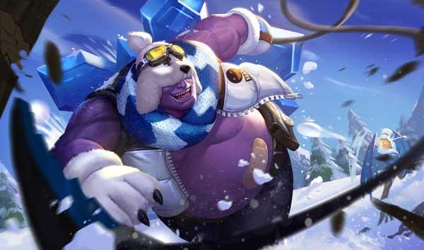 Hướng dẫn cách chơi Grakk trang phục chàng gấu tuyết