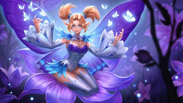 Hướng dẫn cách chơi Krixi trang phục công chúa bướm