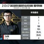 Liên Minh Huyền Thoại – Snake vs EDG : 1-2 Sofm đã rất cố gắng