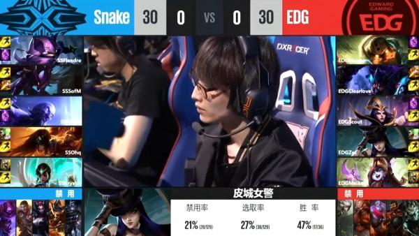 Snake vs EDG