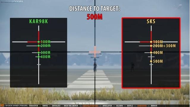 Cách bắn Kar98 và SKS với scope 4x