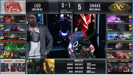 Highlights Snake Esports vs LGD Gaming