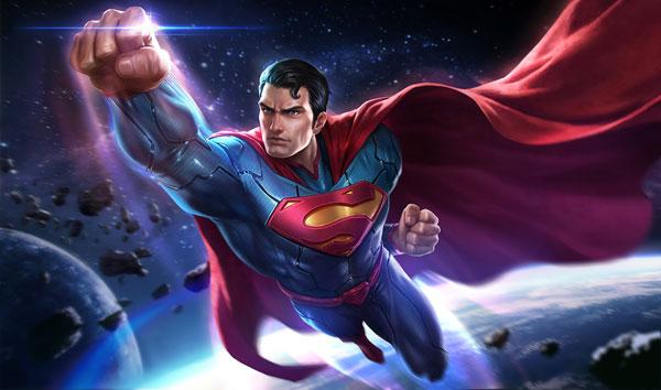 cách lên đồ Superman