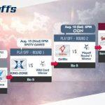 Lịch thi đấu Playoffs LCK mùa hè 2018
