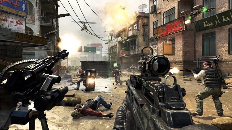 game bắn súng offline hay call of duty 4