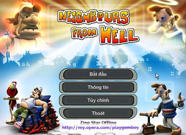 game ông hàng xóm tinh nghịch 1 neighbours from hell 1