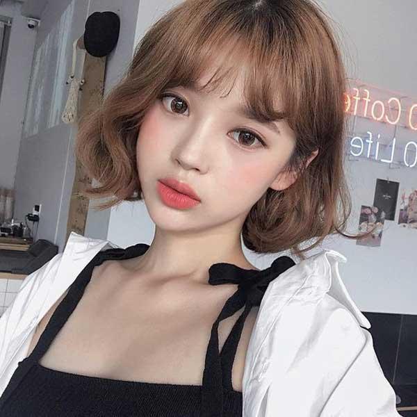 tóc ngắn đẹp 2019